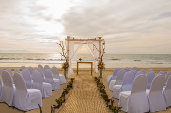 Set For A Beach Wedding
