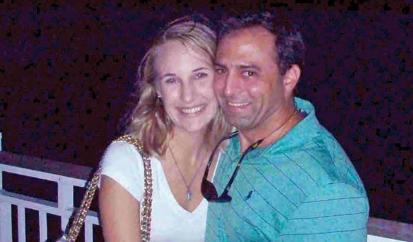 Bridgette and Jamiel Kadri